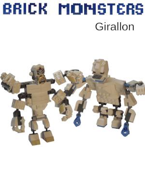 Brick Monsters: Girallon