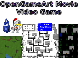 Postmortem: OpenGameArt Movie Video Game